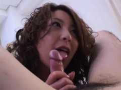 Luna Mikami Strokes, Sucks And Rides Cock Till Gets Cum On