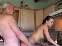 fetishist-brunette-licking-wrinkled-old-man