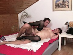 mother-in-law-toying-her-pussy-then-swallows-his-cock