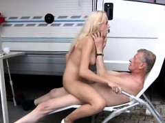 Older hubby wants to witness youthful wifey flirt To make things