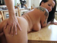 step-son-caught-mother-naked-in-kitchen-and-seduce-fuck