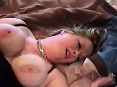 busty bbw wife cheating her hubby with a big black cock