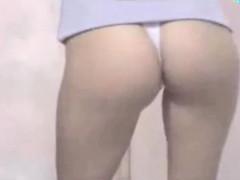 Asian Teen Daughter Caught Stripping