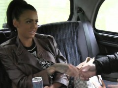 busty-brit-wanks-huge-dick-in-a-cab