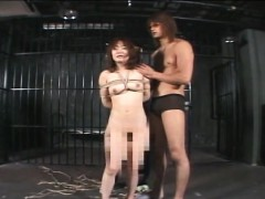 asian girl has a bdsm session and she loves the kink