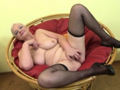 busty-granny-undressing-and-playing-with-her-tits-and-pussy