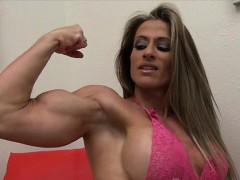 Maria G Sexy Latina Muscle Girl