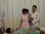 Meguru Kosaka nurse is fucked by sucked dick