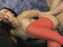 two-guys-roughing-up-brunette-together-on-a-sofa