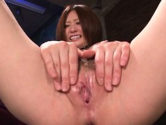 Ruri Haruka Shows Off Riding Her New Toy Cock