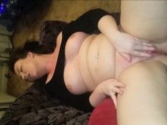 chubby-s-shaved-pussy-gushes-pussy-juices