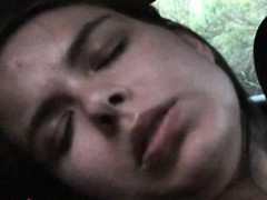 Zuzinka Masturbates Until Orgasm In The Car