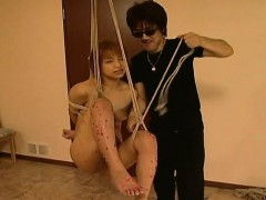 hanging-on-a-swing-asian-babe-gets-waxed