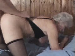 granny loves cum and doggy style screwing – مراهق ينيك أخته بزبره العملاق