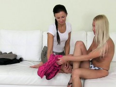 lesbo-foreplay-at-casting