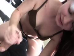 Sexy Cameron Jerking Cock Like Crazy