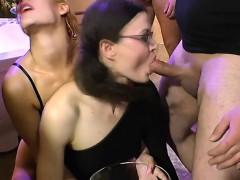 slut-drinks-pee-from-bowl