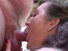 german-milf-mom-in-stockings-seduce-to-fuck-public