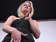 Blonde Sucking Black Cock