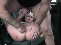 beautiful brunette getting fucked by a huge black cock