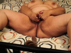 Wet Redbone Bbw Cum Marget From Kinkyandlonelycom