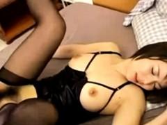 Kinky Japanese Girl Gets Fucked Hard – FreeFetishTV.com