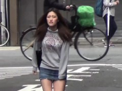 asian skank pee public japanese tube