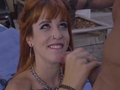 oyeloca – red haired latina gets banged hard