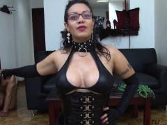 tuvenganza – latina eats sperm in steamy fetish revenge fuck