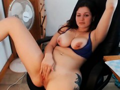 busty-curvy-18yo-bigtits-teasing-and-spanking-ass