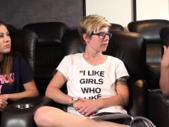 Lesbian Babe Fingered