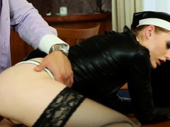 Posh Dressed Nun Cumshot