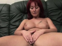 Handicapped Man Fucking Busty Redhead Cougar
