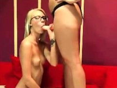 two-blonde-lesbians-playing-attached-dildo