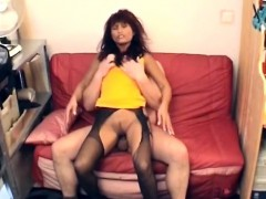 curvy-african-slut-banged-on-a-red-sofa-by-a-hard-white-cock