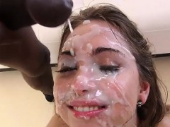 Gangbang Teen Hot Cum Face