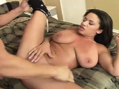 hot-brunette-with-big-hooters-gets-her-bald-twat-banged-and-cum-on-her-tits