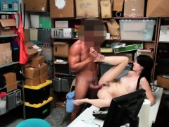 shoplifter babe alex harper poking desk big cock