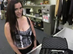 Brunette And Latina Sophie Leon Gets Fucked By Shawn