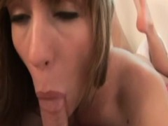 real vintage amateur cumsprayed in mouth pov
