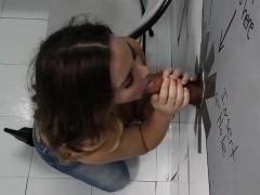 Natasha Nice Tries Anal With Black Cock Gloryhole