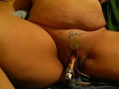 Large Push And Clit Climax