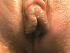 Woman Warm Wet Vagina Masturbation On Cam Close-up