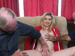 Blonde Teen Stacie Gets Her Cunt Inspected