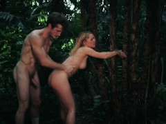 teen-raylin-ann-tied-to-tree-and-pounded-outdoors
