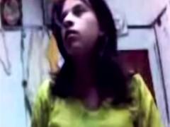 Aamteur Teen Arab Girlfriend With Big Tits Stripping