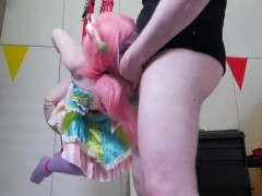 Spicy Cutie Is Brought In Anal Asylum For Harsh Treatment
