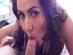 Latina Kim Kardashian Look Alike Sucking Cock