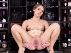 Naughty Czech Sweetie Gapes Her Yummy Vagina To The Unusual
