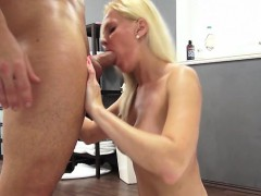 Big Tits Pornstar Casting And Cumshot